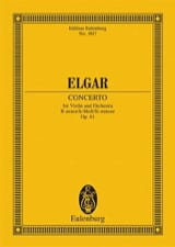 Edward Elgar - Violin-Konzert H-Moll, Op. 61 - Conducteur - Partition - di-arezzo.ch