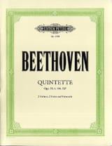 BEETHOVEN - Quintet op. 29 - 4 - 104 - 137 - Stimmen - Sheet Music - di-arezzo.com