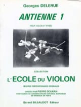 Georges Delerue - Antiphon 1 - Sheet Music - di-arezzo.co.uk