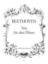 BEETHOVEN - Trio für 3 Flöten - Partition - di-arezzo.fr