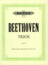 Ludwig van Beethoven - Klaviertrios – Bd. 2 (Kl. Vl (o. Kl) Vc) - Stimmen - Partition - di-arezzo.fr