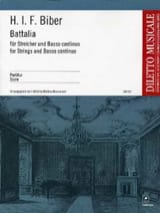 Battalia – Partitur - Heinrich Ignaz Franz Biber - laflutedepan.com