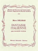 Marc Delmas - Fantaisie italienne - Partition - di-arezzo.fr