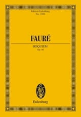 Requiem Gabriel Fauré Partition Petit format - laflutedepan.com