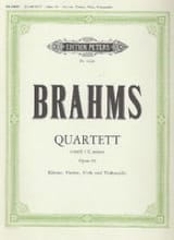BRAHMS - Klavierquartett c-moll op. 60 - Sheet Music - di-arezzo.co.uk