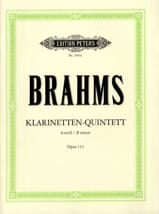 BRAHMS - Klarinetten-Quintett h-moll op. 115 - Stimmen - Sheet Music - di-arezzo.co.uk