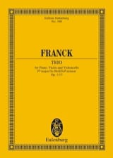 César Franck - Klavier-Trio Fis-Moll, Op. 1/1 - Sheet Music - di-arezzo.co.uk