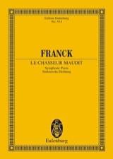 Le chasseur maudit - Partitur César Franck Partition laflutedepan.com