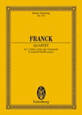 César Franck - Streichquartett D-Dur - Partitur - Sheet Music - di-arezzo.co.uk