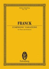 César Franck - Symphonische Variationen - Sheet Music - di-arezzo.co.uk