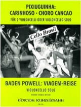 Cello Brasil : Carinhoso - Choro Cancao / Viagen-Reise laflutedepan.com