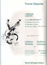 L' Horloge Jazzante Yvonne Desportes Partition Duos - laflutedepan.com