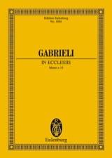 Giovanni Gabrieli - Symphoniae Sacrae Nr. 26 - Sheet Music - di-arezzo.com