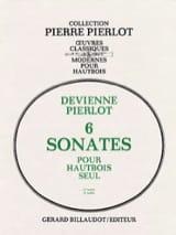 François Devienne - 6 Sonates Volume 1 – 1ère Suite - Partition - di-arezzo.fr