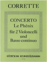 Concerto Le Phénix –2 Violoncelli u. Bc laflutedepan.com