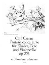 Fantasia concertante op. 256 -Klavier Flöte Violoncello laflutedepan.com