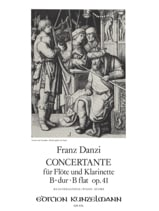 Symphonie Concertante B-Dur op. 41 -Flöte Klarinette Klavier laflutedepan.com