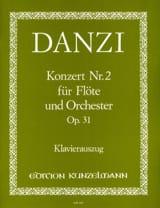 Concerto n° 2 op. 31 –Flöte Klavier Franz Danzi laflutedepan.com