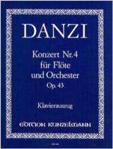 Concerto n° 4 op. 43 – Flöte Klavier Franz Danzi laflutedepan.com