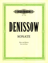 Edison Denisov - Sonate – Flöte Klavier - Partition - di-arezzo.fr