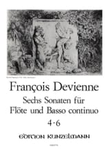 6 Flötensonaten - Nr. 4-6 - Flöte u. Bc laflutedepan.com