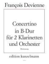 Concertino B-dur – 2 Klarinetten Klavier laflutedepan.com
