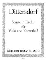 Sonate Es-Dur für Viola und Kontrabass - laflutedepan.com