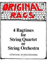 Werner Thomas-Mifune - 4 Ragtimes - String Quartet or Orch., Volume 2 - Partition - di-arezzo.fr