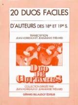 Horreaux Jean / Tréhard Jean-Marie - 20 Easy Duets from 18th and 19th Century Authors - Sheet Music - di-arezzo.com
