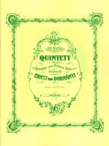 DOHNÁNYI - Klavierquintett c-moll op. 1 - Partitur Stimmen - Partitura - di-arezzo.es