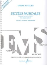 Jean Clément Jollet - Musical dictates - Volume 2 - Student - Sheet Music - di-arezzo.co.uk