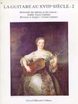 Sophie Jouve-Ganvert - La guitare au 18ème siècle – Volume 2 - Partition - di-arezzo.fr