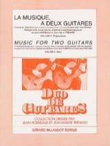 Horreaux Jean / Tréhard Jean-Marie - La musique à deux guitares –Volume 2 - Partition - di-arezzo.fr