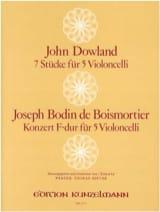 7 Stücke / Konzert F-Dur - 5 Violoncelli laflutedepan.com