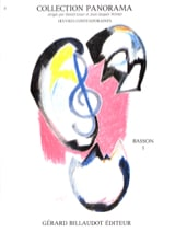 Panorama Basson, Volume 1 Partition Basson - laflutedepan.com