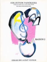 Panorama Basson, Volume 2 Partition Basson - laflutedepan.com