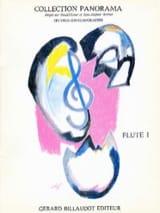 Panorama flûte - Volume 1 - Flûte piano Partition laflutedepan.com