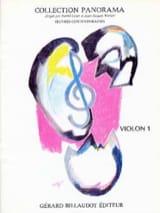 Panorama Violon Volume 1 Partition Violon - laflutedepan.com