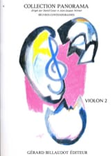 Panorama Violon Volume 2 Partition Violon - laflutedepan.com
