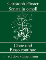 Christoph Förster - Sonata c-moll - Oboe und Bc - Sheet Music - di-arezzo.co.uk