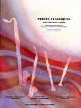 Pieces classiques - Clarinette - Volume 2 laflutedepan.com
