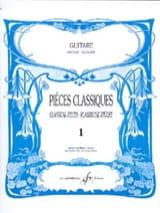 Pièces Classiques - Volume 1 Louis Lautrec Partition laflutedepan.com