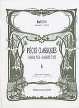 - Classic Volume 5 pieces - Bassoon - Sheet Music - di-arezzo.com