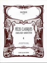 Pièces Classiques Volume 4 - Hautbois Partition laflutedepan.com
