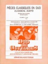 Horreaux Jean / Tréhard Jean-Marie - Pièces classiques en duo – Volume 2 (guitares) - Partition - di-arezzo.fr