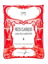 - Pièces classiques Volume 6 –Harpe - Partition - di-arezzo.fr