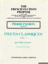 Pièces classiques - Volume 2 - Flûte et piano laflutedepan.com