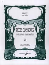 Pièces classiques Volume 2 Partition Harpe - laflutedepan.com