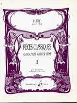 Pieces classiques - Volume 3 - Flûte et piano laflutedepan.com