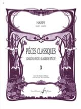 Pièces classiques Volume 3 -Harpe Partition laflutedepan.com